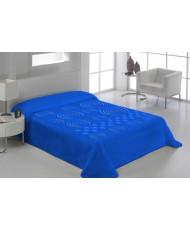 Ανάγλυφη Μονή: Μονόχρωμη ανάγλυφη κουβέρτα 160 x 220 cm υψηλής ποιότητας, Σε 7 χρώματα, Beige, Blue, Burgundy, Elephant, Gold, Grey και Pink.